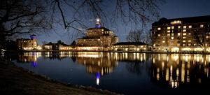 The Broadmoor at Night